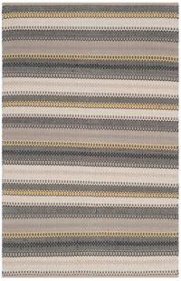 Safavieh Striped Kilim 4' x 6' Melissa Rug in Grey