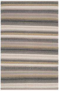 Safavieh Striped Kilim 5' x 8' Melissa Rug in Grey