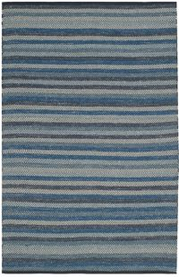 Safavieh Striped Kilim 4' x 6' Kay Rug in Blue