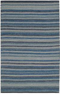 Safavieh Striped Kilim 8' x 10' Kay Rug in Blue