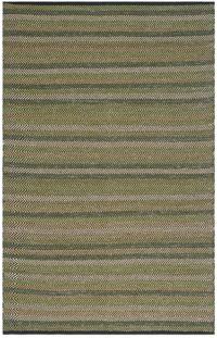 Safavieh Striped Kilim 4' x 6' Kay Rug in Green