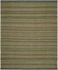 Safavieh Striped Kilim 8' x 10' Kay Rug in Green