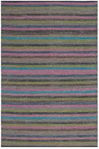 Safavieh Striped Kilim 4' x 6' Kay Rug in Grey