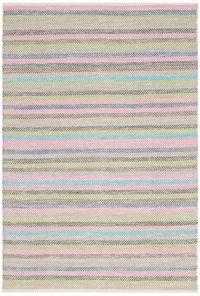 Safavieh Striped Kilim 5' x 8' Kay Rug in Light Grey