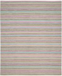 Safavieh Striped Kilim 8' x 10' Kay Rug in Light Grey
