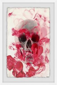 Marmont Hill Collective Skull II 24-Inch x 36-Inch Framed Wall Art