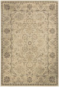 Surya Hathaway Floral 1'10 x 2'11 Accent Rug in Beige/Brown
