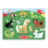 Melissa & Doug® Pet Animals Peg Puzzle