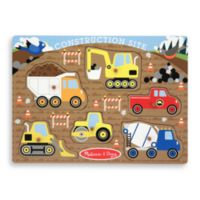 Melissa & Doug® Construction Peg Puzzle