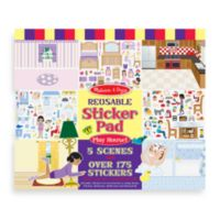 Melissa & Doug Standard Item Play House! Reusable Sticker Pad