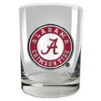 University of Alabama 14 oz. Rocks Glass