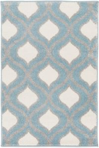 Surya Horizon 2' x 3' Woven Area Rug in Blue/Grey