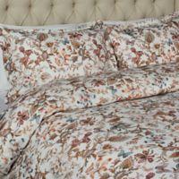 Vesper Lane Litchfield Queen Duvet Cover Set in Brown