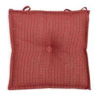 Arlee Home Fashions® Essentials Carlin Chair Pad in Chili Pepper
