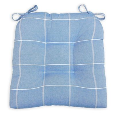 Charmant Arlee Home Fashions® Essentials Highland Chair Pad In Blue