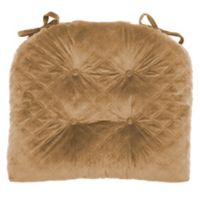Therapedic® Velvet Quilted Chair Pad in Coconut