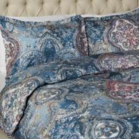 Vesper Lane Lafayette Queen Duvet Cover Set in Blue