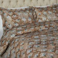 Victoria Empress Queen Duvet Cover Set in Tan