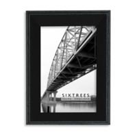 Sixtrees Fayette 4-Inch x 6-Inch Frame in Black