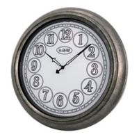 La Crosse Technology 18-Inch Round Indoor/Outdoor Lighted Dial Wall Clock
