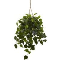 Nearly Natural 36-Inch Artificial Philodendron Indoor/Outdoor Hanging Plant