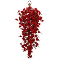 Nearly Natural Artificial Plum Blossom Teardrop Decoration