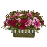 Nearly Natural Display Planter