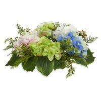 Nearly Natural 14-inch Hydrangea Candelabrum