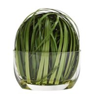 Nearly Natural 9-Inch Weaving Grass Artificial Arrangement in Vase