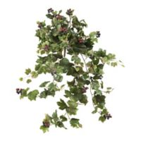 Nearly Natural 24-Inch Hanging Grape Leaf Artifical Plant (Set of 2)