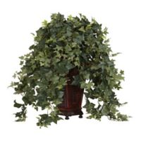 Nearly Natural 34-Inch Artificial Vining Puff Ivy Plant with Vase