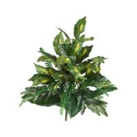 Nearly Natural 25-Inch Mixed Greens Artificial Plants (Set of 2)