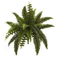 Nearly Natural 14-Inch Artificial Boston Fern Plants (Set of 6)