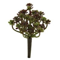 Nearly Natural 7-Inch Artificial Sedum Succulent Plant (Set of 8)