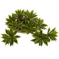 Nearly Natural 5-Inch Mini Agave Artificial Succulent Plants (Set of 12)