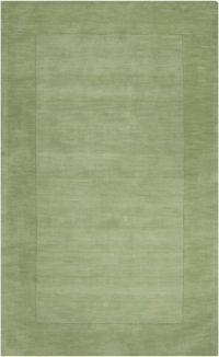 Surya Mystique Solid Border 12' x 15' Area Rug in Green