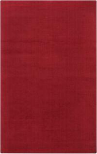 Surya Mystique Solid 9' x 13' Area Rug in Red