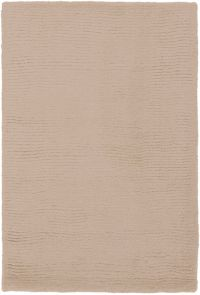 Surya Mystique Solid 2' x 3' Accent Rug in Taupe