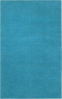 Surya Mystique Solid 9' x 13' Area Rug in Blue