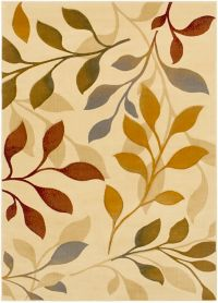 Surya Majestic 2'2 x 3'3 Woven Area Rug in Brown
