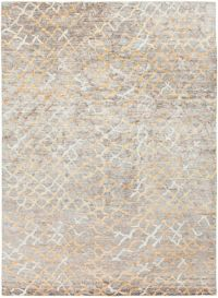 Surya Platinum 8' x 11' Hand Knotted Area Rug in Grey