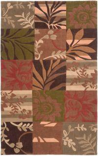 Surya Cosmopolitan 5' x 8' Handcrafted Multicolor Area Rug