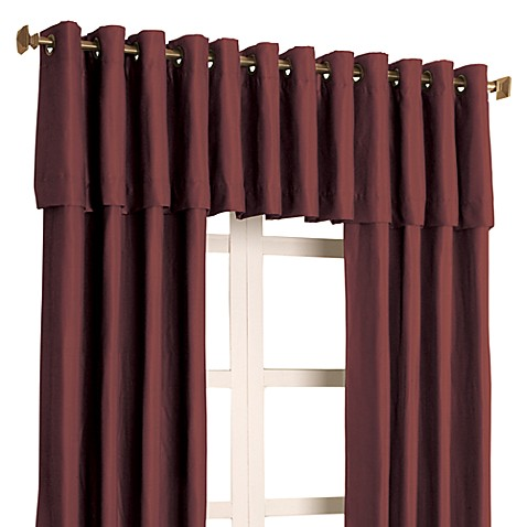 Trilogy 84-Inch Window Panel in Burgundy