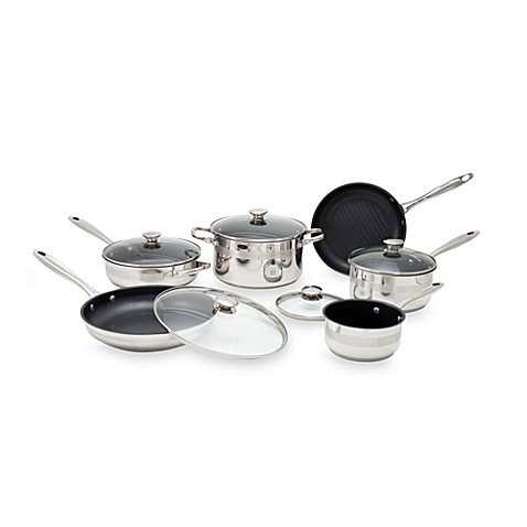 Buy Wolfgang Puck 174 11 Piece Nonstick Cookware Set From Bed