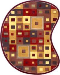 Surya Forum Kidney 8' x 10' Area Rug in Tan/Rust