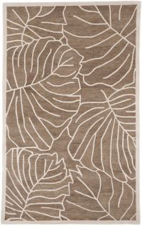 Surya Studio 9' x 13' Hand-Tufted Area Rug in Brown/Neutral