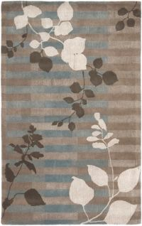 Surya Smith II 3'3 x 5'3 Hand-Tufted Area Rug in Brown/Grey