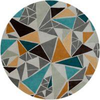 Surya Cosmopolitan Multicolor 8' Round Area Rug