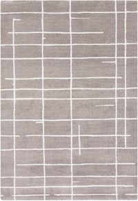 Surya Perla Geometric 2' x 3' Accent Rug in Grey