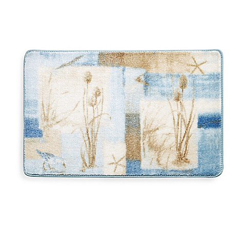 Avanti Blue Water Bath Rug Bed Bath Beyond